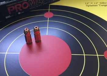 Target - 12x12 splatter 2