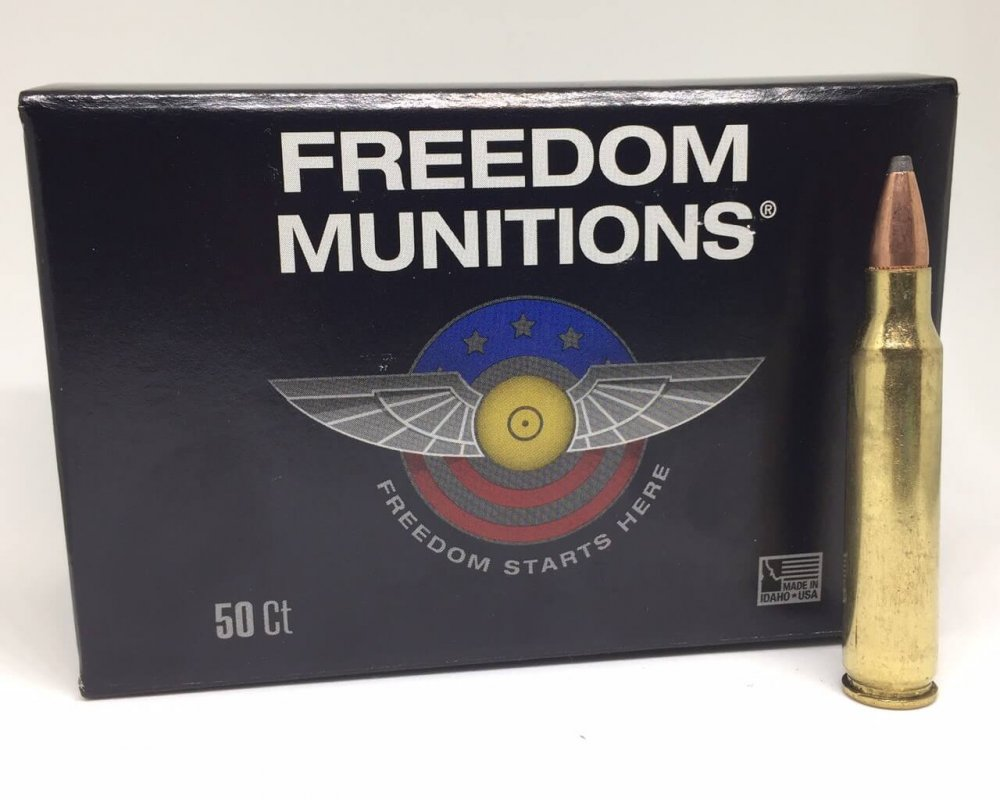 223 Pointed Soft Point Ammo