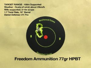 54Industries reviews the .223 77gr HPBT ammunition in New Zealand
