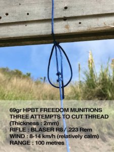 54Industries reviews the .223 69gr HPBT ammunition in New Zealand