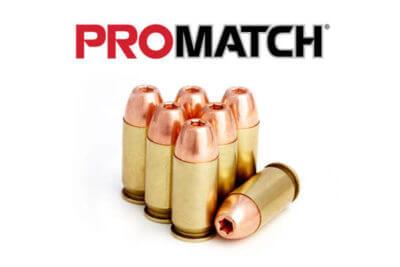 promatch 45 ACP Ammo