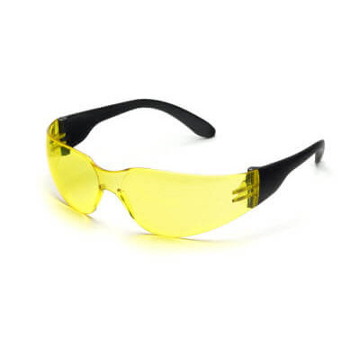 yellow shooting glasses