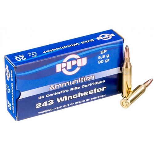 243 sp ammo