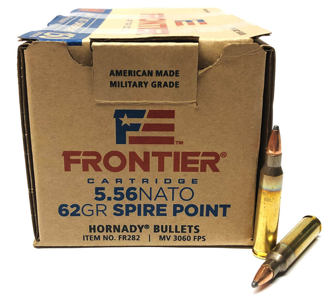 5 56x45mm NATO 62gr Soft Point (Hornady Frontier Cartridge) - 150 Rounds