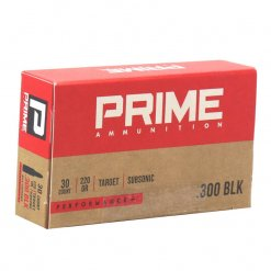 Prime Ammunition 300 Blackout Ammo 220 Grain Hollow Point Performance +