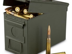 Federal Lake City 50 BMG M33 Ammo 660 Grain FMJ 100 Rounds