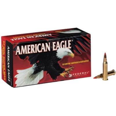 Federal American Eagle 17 WSM Ammo 20 Grain Tipped Varmint